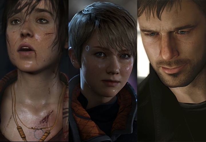 Heavy Rain, Beyond: Two Souls and Detroit: Become Human