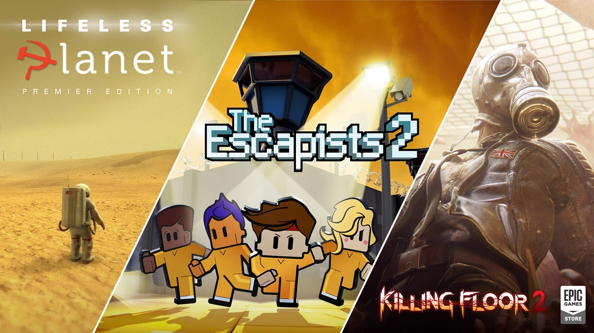 Killing Floor 2+Lifeless Planet +The Escapists 2 [EGS account]