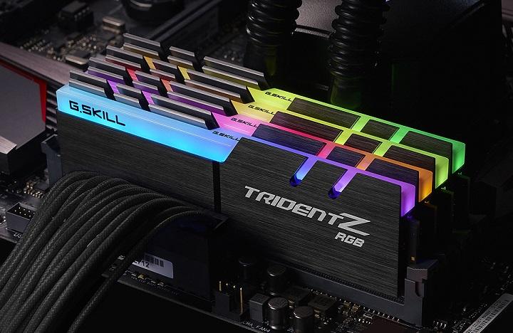 Мастерство г. при условии высокоскоростного комплекта памяти Тризуб З РГБ ddr4 с низкими задержками