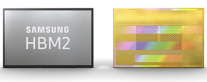 Samsung анонсировала скоростную память HBM2E