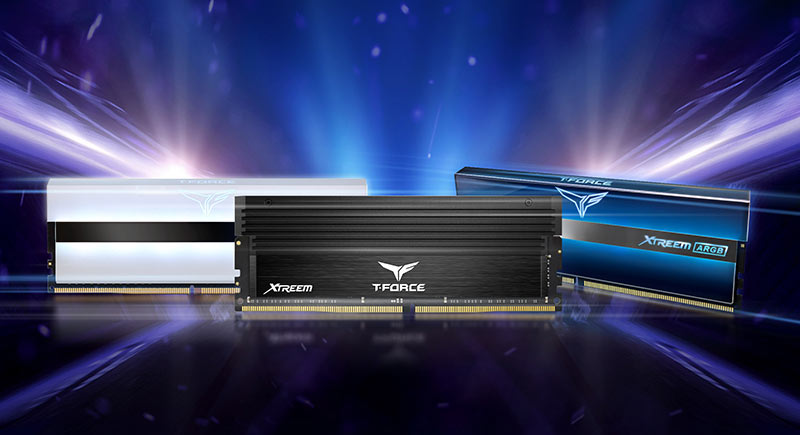 Team Group анонсировала наборы памяти T-Force Xtreem DDR4-5066/5333/5600 объёмом 16 Гбайт