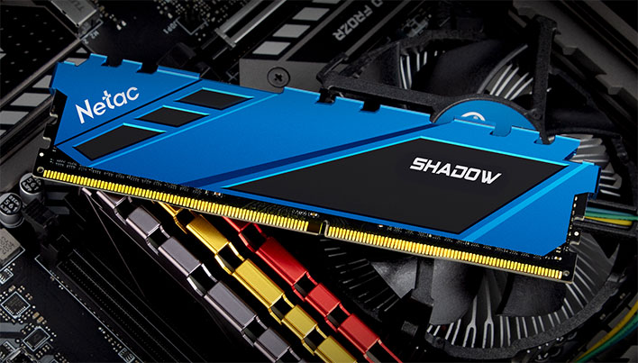 Netac разрабатывает оперативную память DDR5 с эффективной частотой 10 ГГц