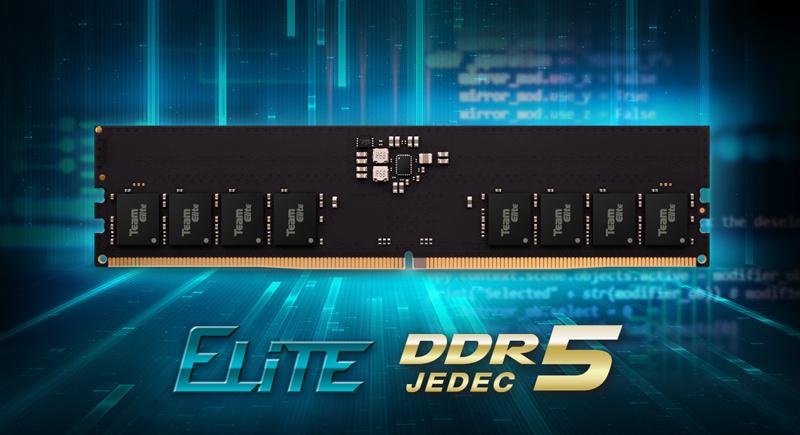 Team Group выпустила 32-гигабайтный комплект памяти Elite DDR5-4800 / Новости / Overclockers.ua