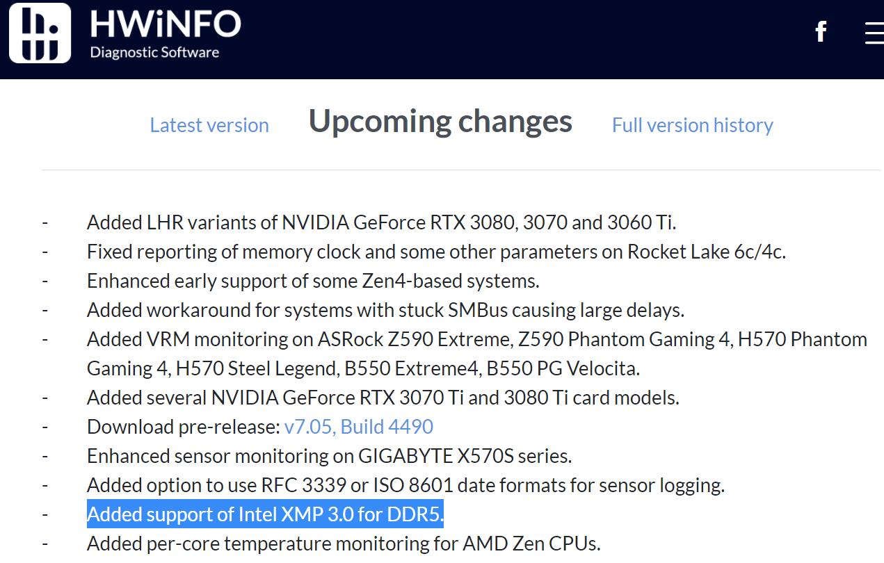 В модулях DDR5 появятся оверклокерские профили Intel XMP 3.0
