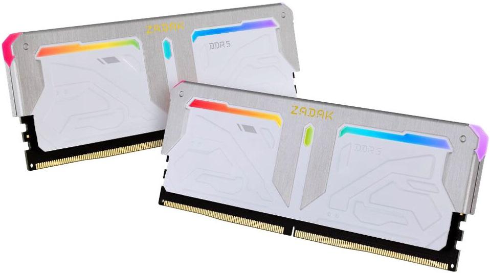 Zadak предложит модули Spark DDR5 с эффективной частотой от 4800 до 7200 МГц