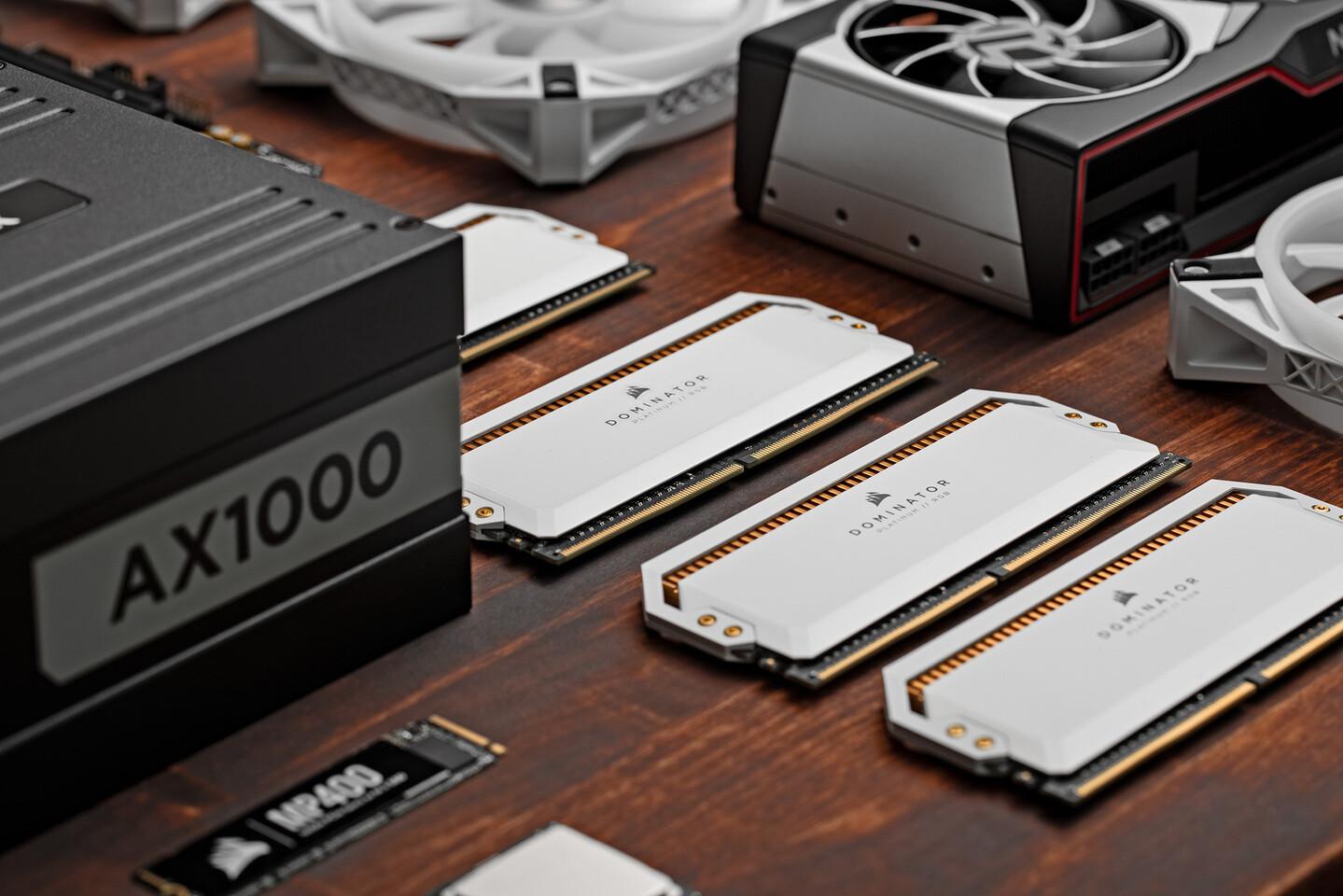 Corsair напоминает о важности эффективного охлаждения модулей DDR5