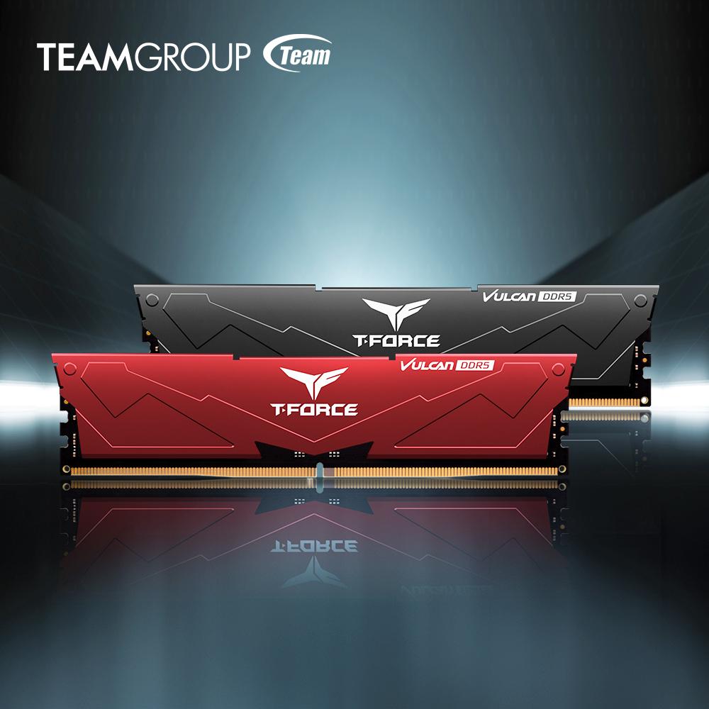 Team Group анонсировала память DDR5-5200 в сериях T-Force Vulcan и Delta RGB