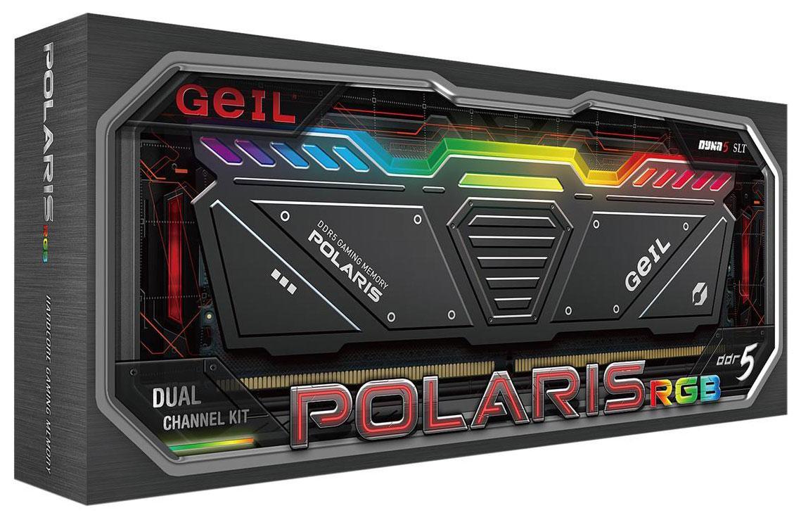 Набор памяти GeIL Polaris RGB DDR5-4800 объемом 32 ГБ доступен за $350