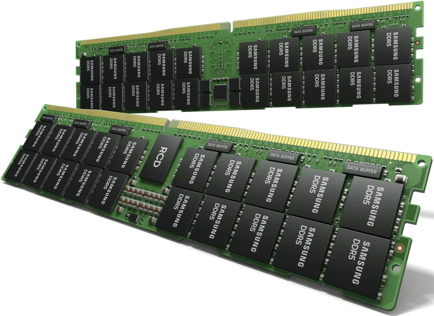 Samsung наладила массовый выпуск 14-нм чипов DDR5 с применением EUV-литографии