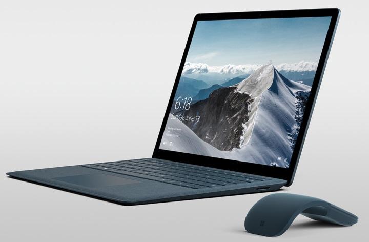 Microsoft представила ноутбук Surface Laptop с ОС Windows 10 S