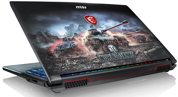 MSI GP62M World of Tanks Edition