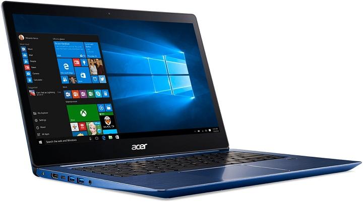 Компания Acer первой засветила ноутбук набазе процессора Intel Coffee Lake