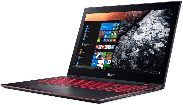 Acer показала ноутбук-перевертыш Nitro 5 Spin восьмого поколения