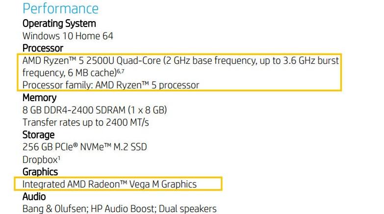 HPEnvy x360: 1-ый ноутбук-трансформер напроцессоре AMD Raven Ridge