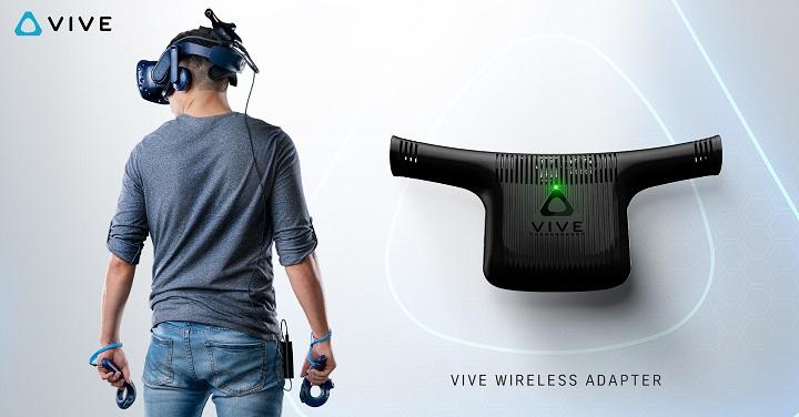 Беспроводной адаптер для VR-гарнитур HTC Vive оценён в $300
