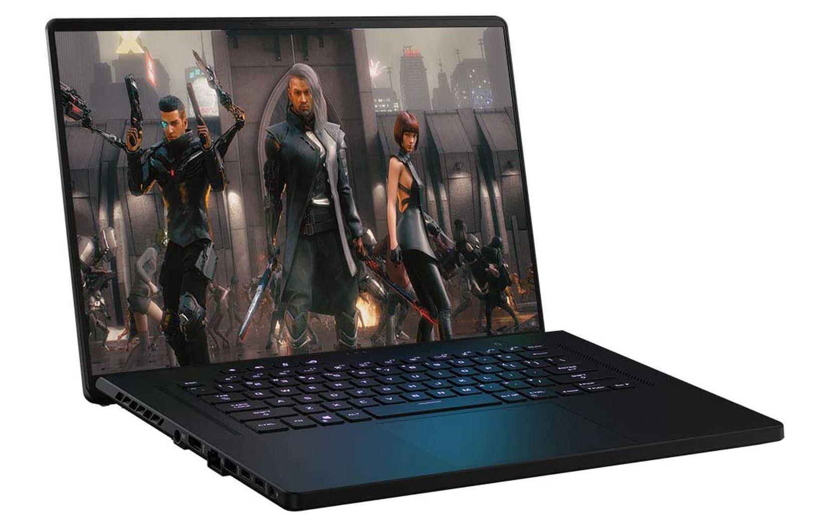 ASUS готовит ноутбуки ROG Zephyrus M16 и S17 с процессорами Intel Tiger Lake-H