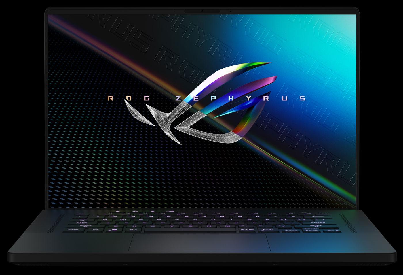 ASUS ROG Zephyrus M16 — геймерский лэптоп с 16-дюймовым экраном