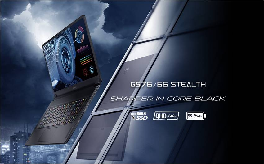 MSI представила ноутбуки на процессорах Intel Tiger Lake-H45