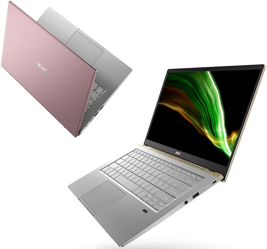 Ноутбук Acer Swift X с процессорами AMD Ryzen 5000U поступил в украинскую розницу