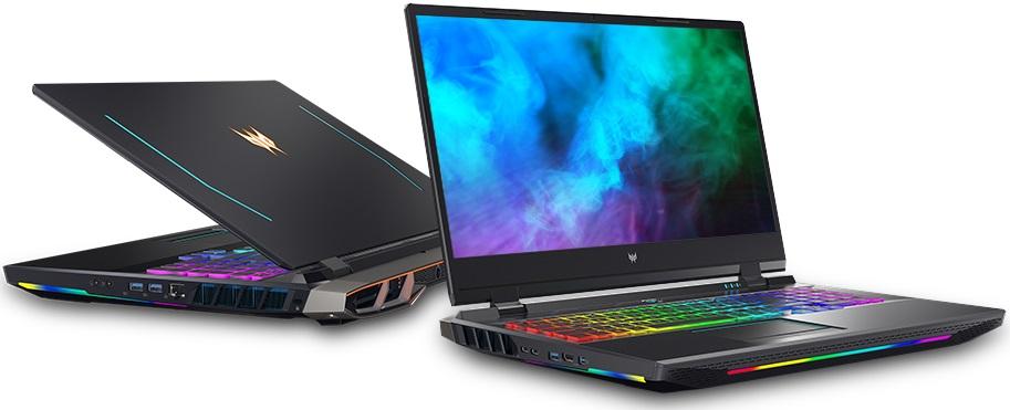 В новых лэптопах Acer Predator используются экраны с подсветкой Mini LED