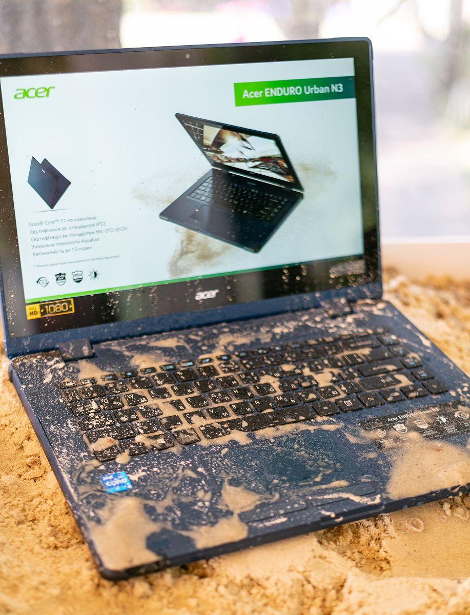 В Киеве состоялась презентация защищенных ноутбуков Acer Enduro