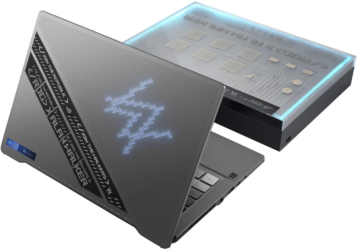 ASUS представила геймерский ноутбук ROG Zephyrus G14 Alan Walker Special Edition