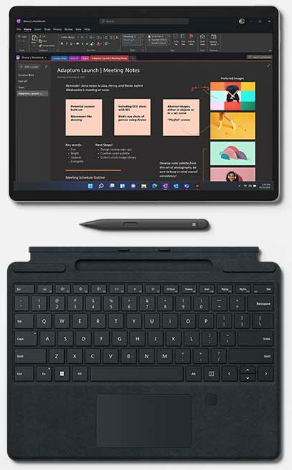 Microsoft представила Surface Pro 8, Surface X и Surface Go 3