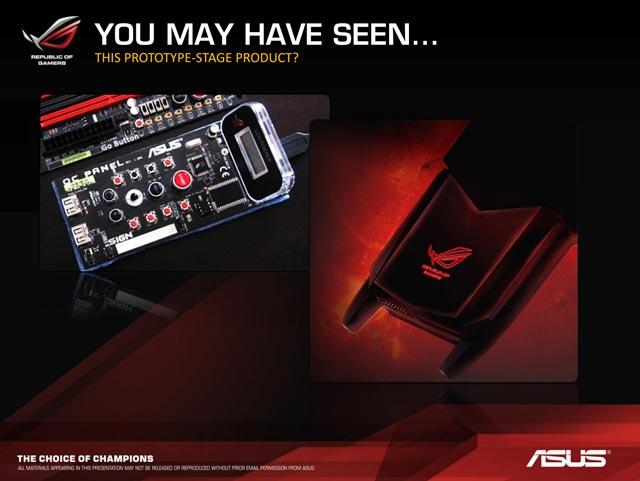 ����������� ����� ASUS Z87 ROG - Overclocking Command Center