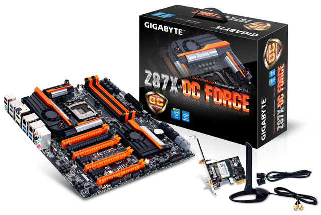 ����������� ����� Gigabyte GA-Z87X-OC Force