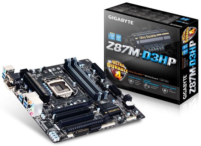 ����������� ����� Gigabyte GA-Z87M-D3HP