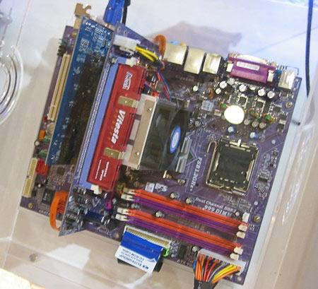 Материнская плата ECS PF88 Extreme Hybrid (2005)
