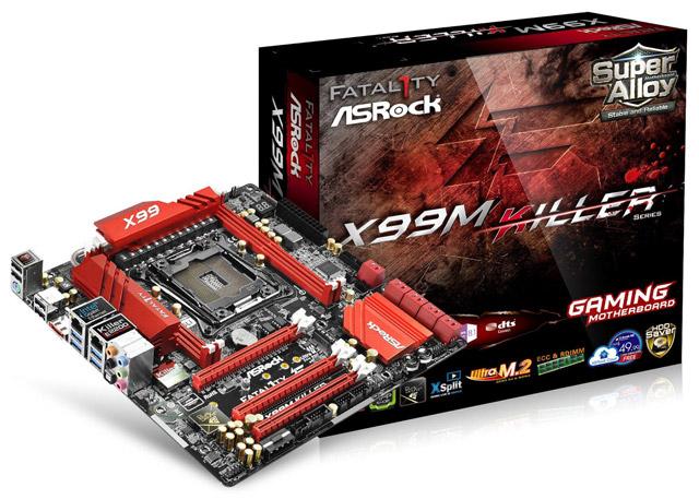 На подходе ASRock X99M Killer – компактная геймерская плата для Haswell-E