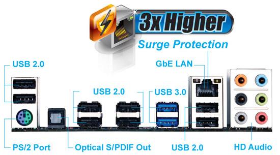 ����������� ����� GA-970A-D3P rev. 2.0