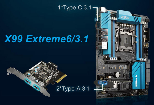 ASRock X99 Extreme6/3.1