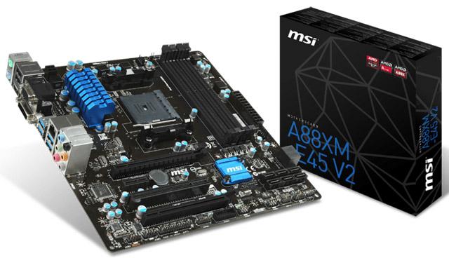 Материнская плата MSI A88XM-E45 V2