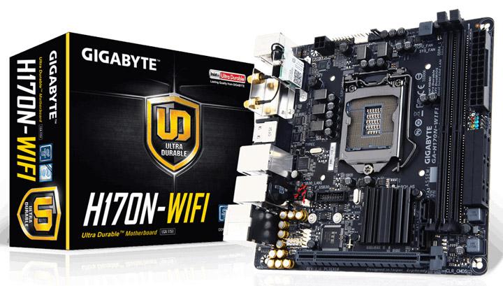 ����������� ����� Gigabyte GA-H170N-WiFi