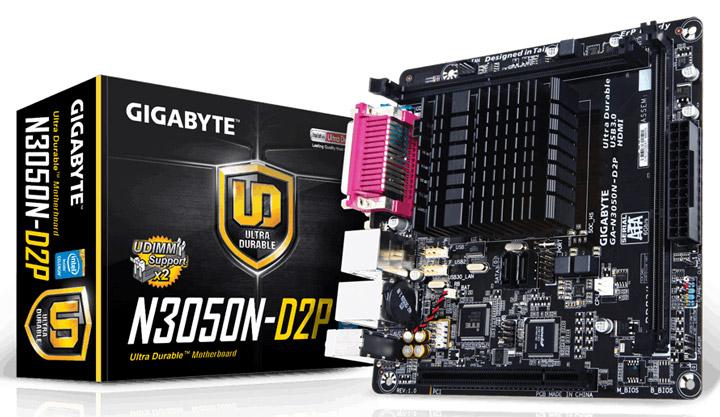 Материнская плата Gigabyte GA-N3050N-D2P