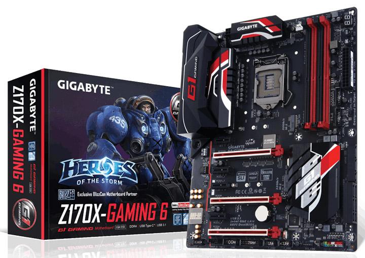 Материнская плата Gigabyte GA-Z170X-Gaming 6