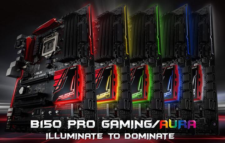 Материнская плата Asus B150 Pro Gaming/Aura