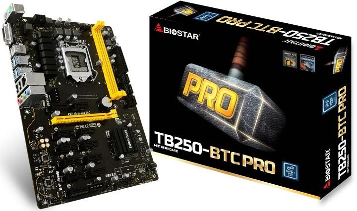 Biostar TB-250-BTC Pro