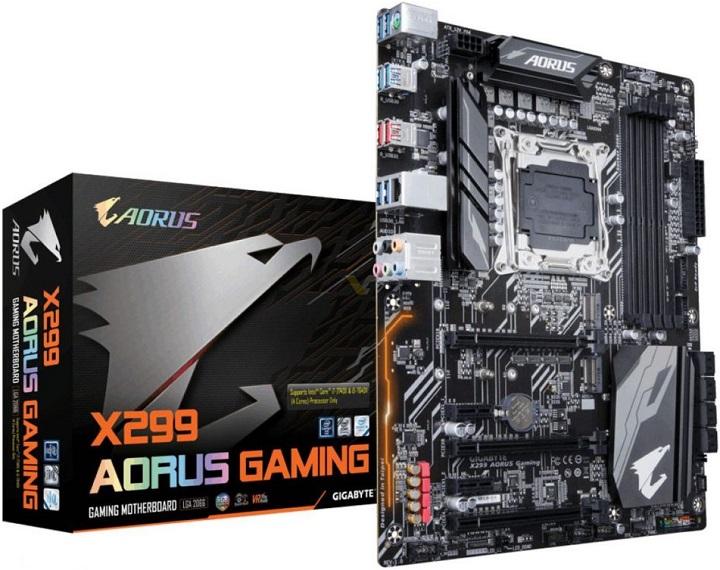 Gigabyte X299 Aorus Gaming