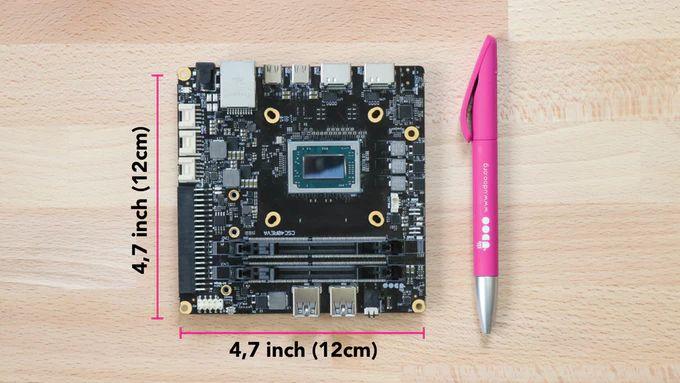 ОдноплатныйПК Udoo Bolt V8 получил APU Ryzen Embedded V1605B