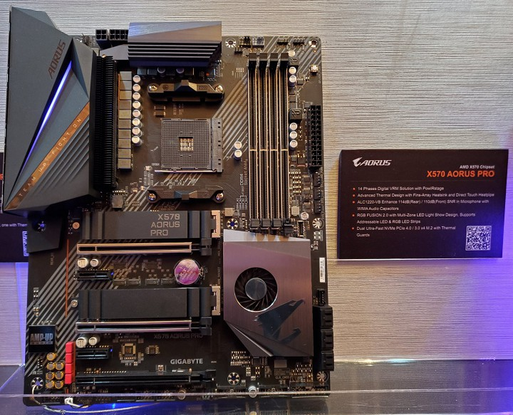 Gigabyte X570 Aorus Xtreme обходится без чипсетного вентилятора