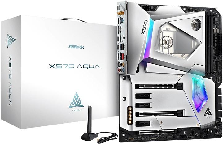 ASRock X570 Aqua: плата с водоблоком для процессоров AMD Ryzen