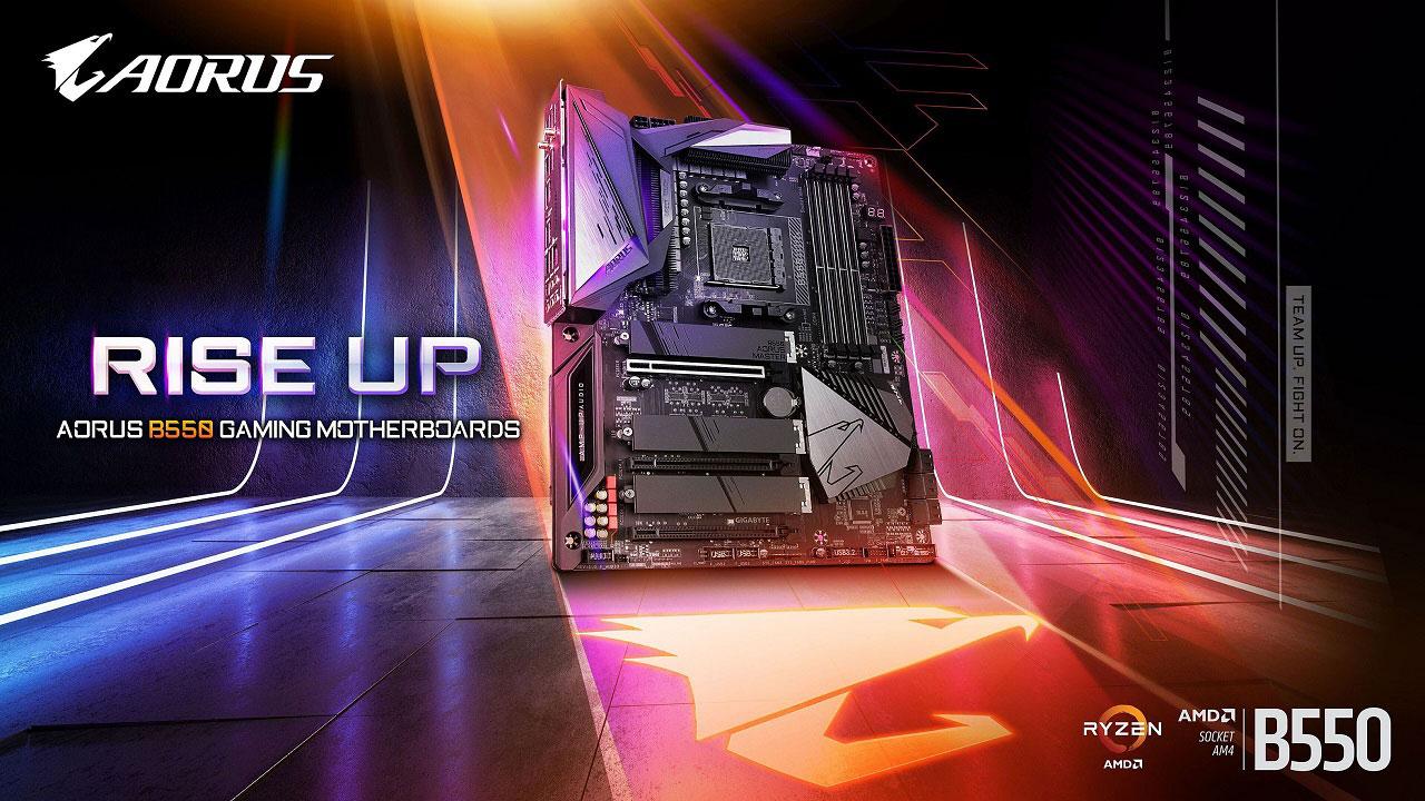 Gigabyte AMD B550