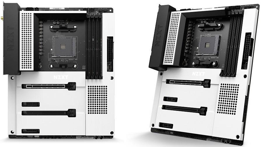 Системная плата NZXT N7 B550 рассчитана на процессоры AMD