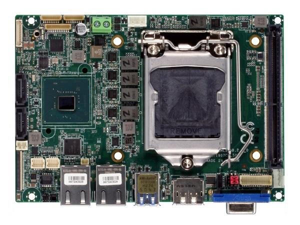 Aaeon Gene-CML5 — миниатюрная плата для чипов Intel LGA1200