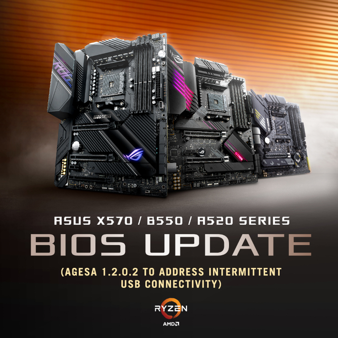 ASUS и MSI решают проблемы с USB-устройствами на платах AMD 500-й серии