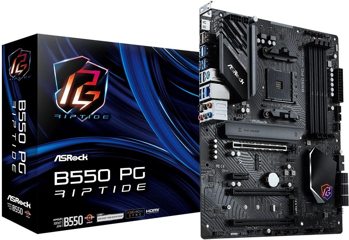 ASRock представила системные платы X570S PG Riptide и B550 PG Riptide