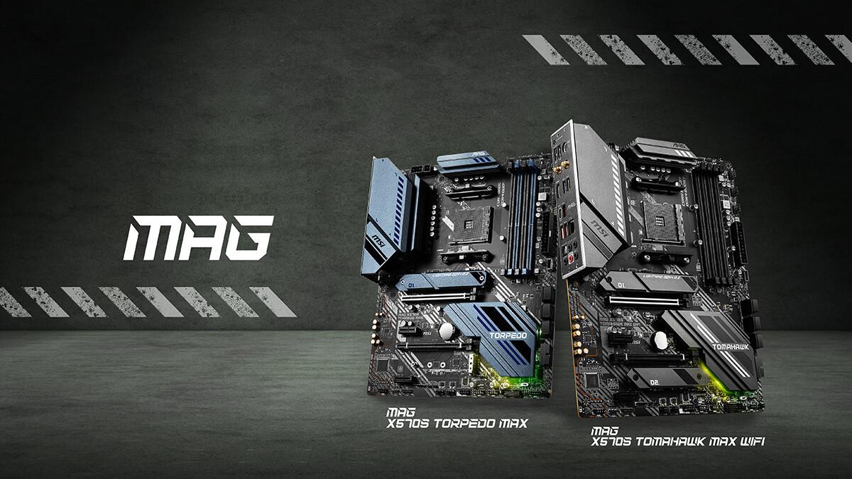 MSI представила две платы MAG X570S с пассивным охлаждением
